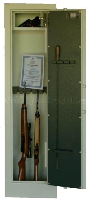 TREZOROVÁ SKŘÍŇ (trezor na zbraně) na 7 dlouhých zbraní WSA7