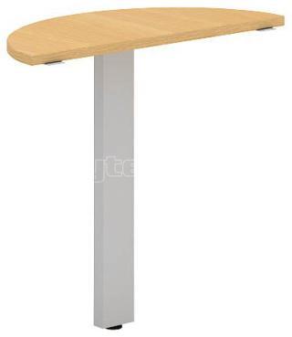 Přídavný stůl oblouk OfficePlus C, 800x350mm (přísed)