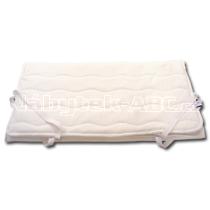 Matracový chránič do rozměru 200 x 180 cm s potahem Sanitized