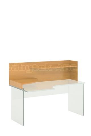Kancelářská stolová nástavba STABIL, levá, 160x62,1x45,5cm