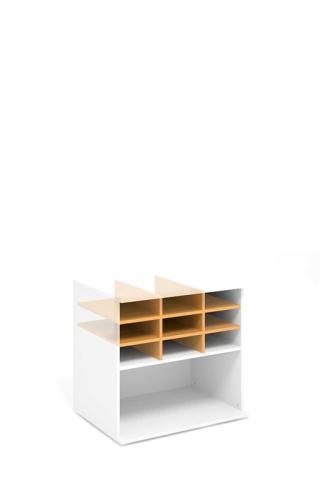 Kancelářská vložka do skříně niky  STABIL, 76,6x52,4x34cm