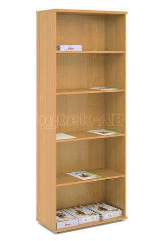 Kancelářská skříň - police STABIL, 74x37,2x190cm