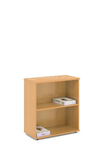 Kancelářská skříň - police STABIL, 74x37,2x80cm