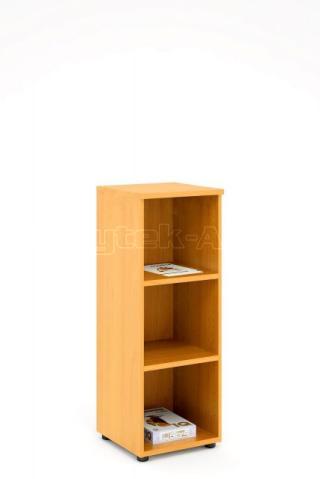 Kancelářská skříň - police STABIL, 37,2x37,2x119,6cm