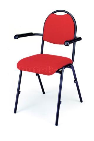 židle BRENDA - červená