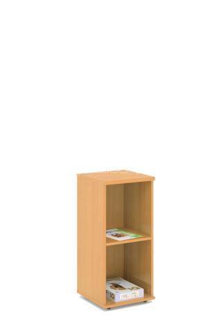 Kancelářská skříň - police STABIL, 37,2x37,2x80cm