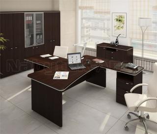 Kancelářský stůl LINE OFFICE, levý 180x94,8cm