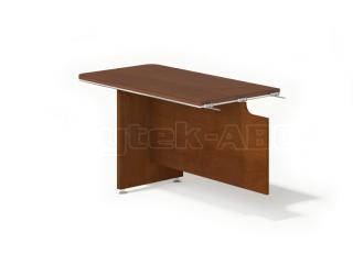 Kancelářský stůl LINE OFFICE, jednací prvek, 130x70cm