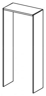 Komplet obkladových desek LINE OFFICE, 87,8x62,9x197,6cm