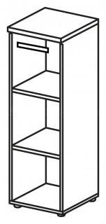 Skříň LINE OFFICE, pravé skleněné dveře, 39,9x42,5x119,5cm