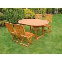 Zahradní nábytek - Sestava ELEGANTE 150/200x100cm