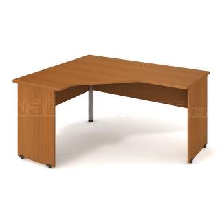 Kancelářský rohový stůl GATE, GEV 60 P, 160x75,5x120cm
