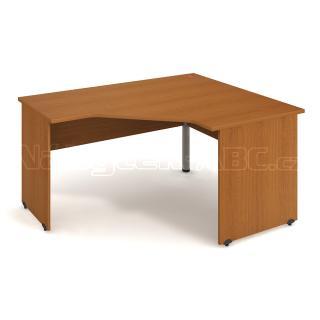 Kancelářský rohový stůl GATE, GEV 80 L, 160x75,5x120cm