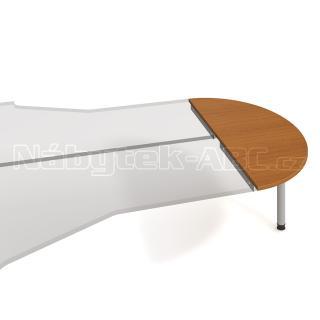 Kancelářský přídavný stůl GATE, GP 160, 160x75,5x60cm