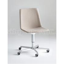Židle ATAMI 5R-U, čalouněná, chromovaná podnož, bez područek