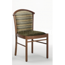 Židle DRACO, bez područek, čalouněná, buk
