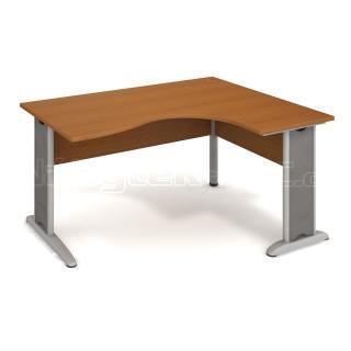 Kancelářský rohový stůl CROSS CE 2005 L, 160x75,5x120(80x60)cm