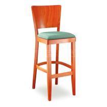 Židle barová JOSEFINA 363262, kůže