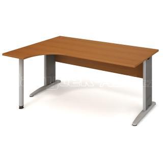 Kancelářský stůl CROSS CE 1800 P, 180x75,5x120(40x80)cm