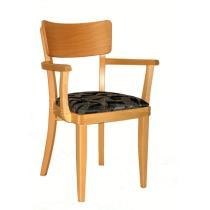 Židle MARINA 323265, kůže