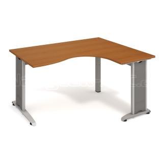 Kancelářský stůl FLEX, FE 2005 L, 160x75,5x120(80x60)cm