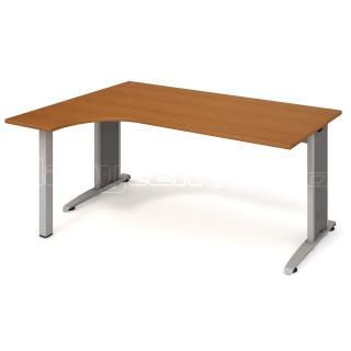 Kancelářský stůl FLEX, FE 1800 P, 180x75,5x120(40x80)cm