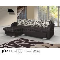 Sedací souprava JOSEF, rohová, rozkládací, úložný prostor