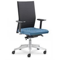 Kancelářská židle ELEMENT 430-SYS, bez područek, nylonový kříž