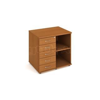 Přídavná skříňka ke stolu Hobis, SPK 80 60 L, 80x75,5x60cm