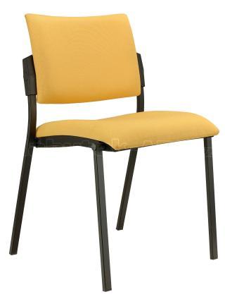 Jednací čalouněná židle  SQUARE