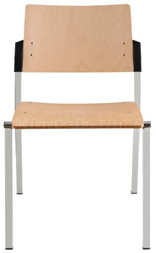 Jednací  konferenční židle  SQUARE dřevo
