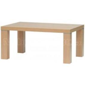 Jídelní stůl JADRAN, dub Sonoma, javor, 130 x 90cm