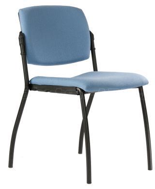 Jednací židle 2091 N ALINA, černá konstrukce