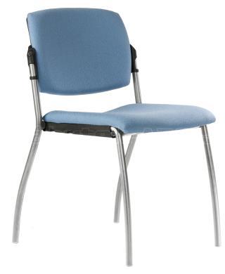 Jednací židle 2091 G ALINA, šedá konstrukce