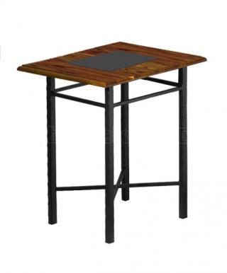 Noční stolek CHAMONIX, dřevo masiv