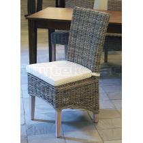 Ratanová jídelní židle, přírodní ratan Kubu