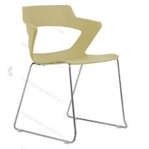 Jednací a konferenční židle 2160/S PC AOKI, plastová
