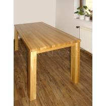 Dubový stůl CITY, 120x80 cm