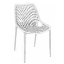 Zahradní židle plastová AIR, bílá