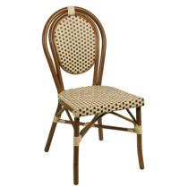 Zahradní ratanová židle LUCCA, světle hnědá
