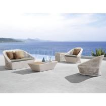 Zahradní nábytek - sedací souprava ratanová LYRE