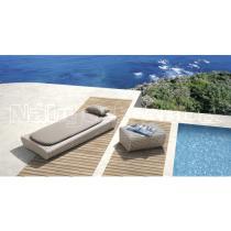 Zahradní nábytek - lehátko + stolek BRONX