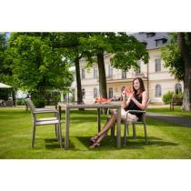 Zahradní nábytek - jídelní stůl Barcelona, 150x90cm