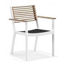 Zahradní jídelní židle YORK, područky
