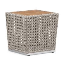 Zahradní nábytek - postranní stolek LYRE, 47x47cm