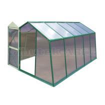 Skleník LANITPLAST DODO 8x12 PC 8 mm zelený, š 235 x d 365 cm