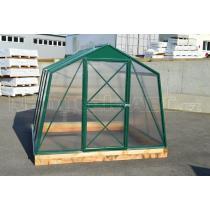 Skleník LANITPLAST DODO 8x5 PC 4 mm zelený, š 235 x d 150 cm