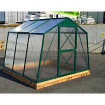 Skleník LANITPLAST DODO 8x7 PC 6 mm zelený, š 235 x d 222 cm