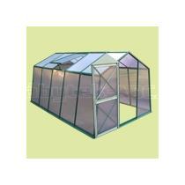 Skleník LANITPLAST PLUGIN 8x12 zelený, 244 x d 360 cm
