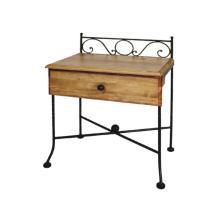 Noční stolek ROMANTIC, smrk 55 x 64 x 36 cm